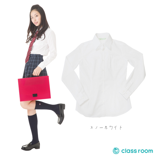 オリジナルワイシャツ[スノーホワイト]